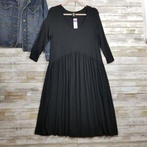 Agnes & Dora Dresses - Agnes & Dora Oakley Dress Pockets Solid Black